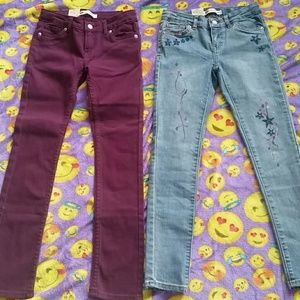 Girl Levi's Skinny & Super Skinny Cut